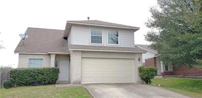 Pflugerville Single Family Home For Sale: 900 Sally Lunn Way