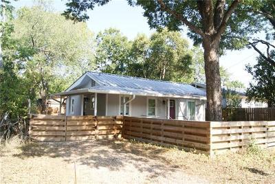 Austin Single Family Home For Sale: 1122 Christie Dr
