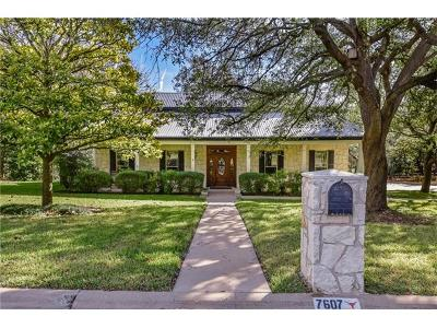 Austin Single Family Home For Sale: 7607 Creekbluff Dr