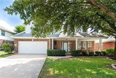 Round Rock Single Family Home Pending - Taking Backups: 16925 Copperhead Dr