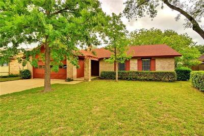Travis County Single Family Home Pending - Taking Backups: 4810 Canyonbend Cir