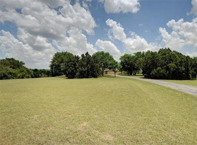 Leander Single Family Home Pending - Taking Backups: 107 Valley View Dr