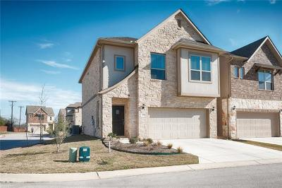 Round Rock Condo/Townhouse For Sale: 2105 Town Centre Dr #46