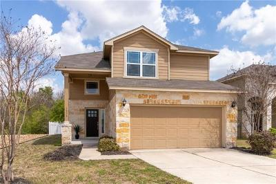 Round Rock Single Family Home For Sale: 1816 Mathers Mill Trl