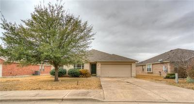 Hutto Single Family Home Pending - Taking Backups: 117 Kerley Dr