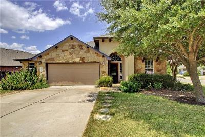 Round Rock Single Family Home Pending - Taking Backups: 4001 Bluestone Ln