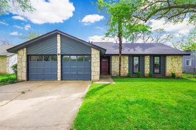 Round Rock Single Family Home Pending - Taking Backups: 1401 Mills Meadow Dr