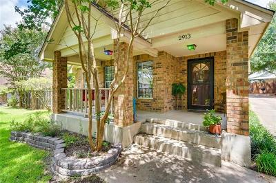 Austin Single Family Home For Sale: 2913 Jubilee Trl