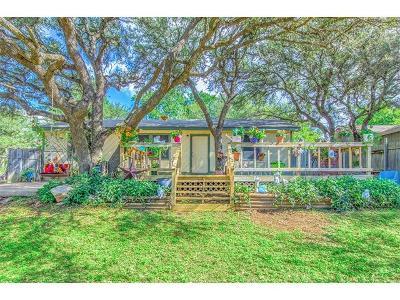 Jonestown Single Family Home For Sale: 18300 Center St