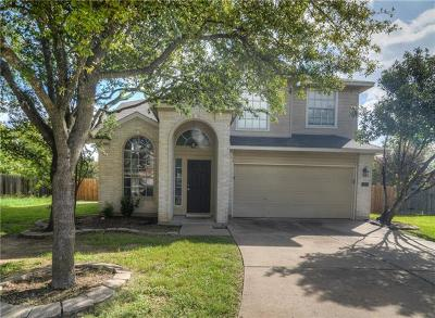 Travis County Single Family Home Pending - Taking Backups: 15641 Imperial Jade Dr