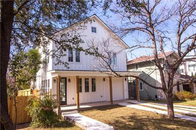 Hays County, Travis County, Williamson County Single Family Home For Sale: 1903 W 30th St #1