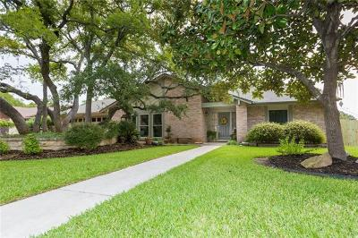 Round Rock Single Family Home Active Contingent: 1101 Penny Ln