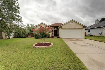 Hutto Single Family Home For Sale: 308 Dana Dr