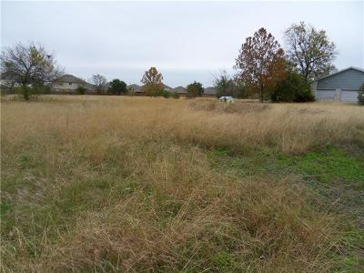 Round Rock Residential Lots & Land For Sale: 201 Glenn Dr