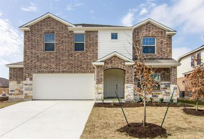 Pflugerville Single Family Home For Sale: 21620 Urraca Ln