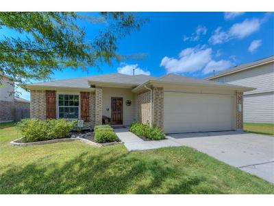 Hutto Single Family Home Pending - Taking Backups: 1217 Montell Ln
