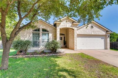 Round Rock Single Family Home For Sale: 2108 Huxley Ln