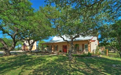 Dripping Springs Single Family Home For Sale: 1100 Butler Ranch Rd