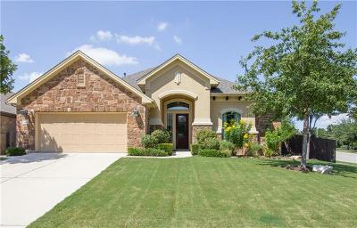 Cedar Park Single Family Home For Sale: 3109 Herradura Dr