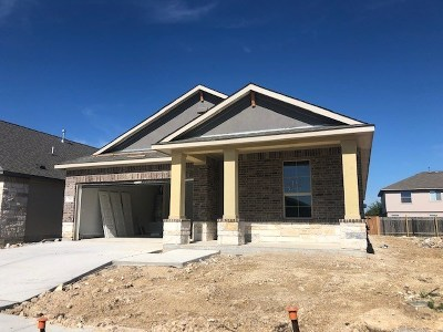 Leander Single Family Home For Sale: 816 Alta Way