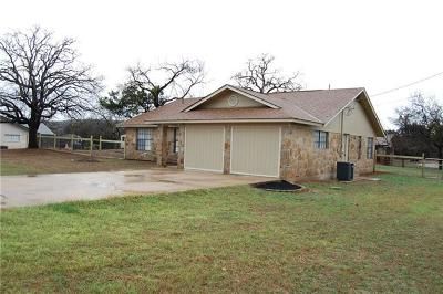 Burnet Single Family Home For Sale: 1700 County Road 118