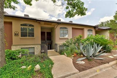 Austin Condo/Townhouse For Sale: 6000 Shepherd Mountain Cv #710