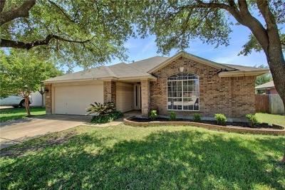 Round Rock Single Family Home For Sale: 17307 Guana Cay Dr