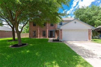 Pflugerville Single Family Home For Sale: 1003 Walter Ct