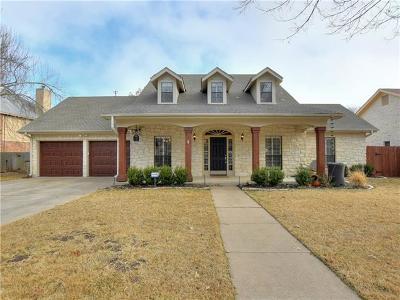 Austin Single Family Home For Sale: 10007 Wild Dunes Dr