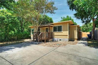 Austin Single Family Home For Sale: 4306 Hank Ave