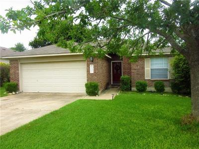 Round Rock Single Family Home Pending - Taking Backups: 2337 Friarcreek Loop