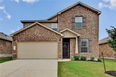 Leander Single Family Home For Sale: 124 Marcheeta Way