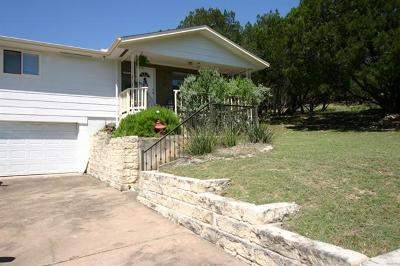 Lago Vista Single Family Home For Sale: 20900 Wishbone Dr