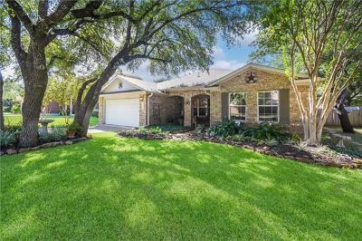 Cedar Park Single Family Home For Sale: 1801 Westminster Way