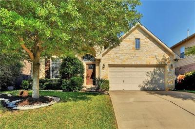 Round Rock Single Family Home For Sale: 2516 Charolais Ct