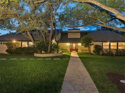Austin Single Family Home For Sale: 7502 Stonecliff Dr