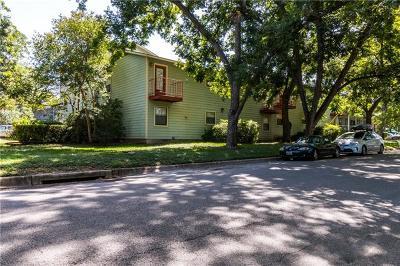 Austin Condo/Townhouse For Sale: 4405 Avenue A #16
