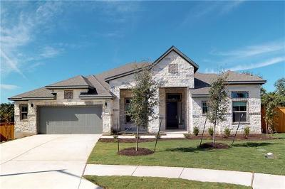 Round Rock Single Family Home For Sale: 4108 Stanyan Cv