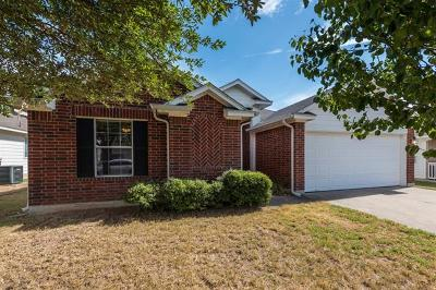 Round Rock Single Family Home For Sale: 1008 Kenneys Way
