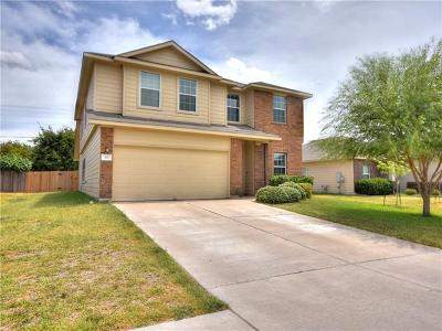 Hutto Single Family Home For Sale: 302 Wells Bnd