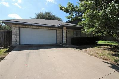 Leander Single Family Home Pending - Taking Backups: 611 Northern Trl