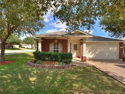 Round Rock Single Family Home For Sale: 501 Calcite Cv