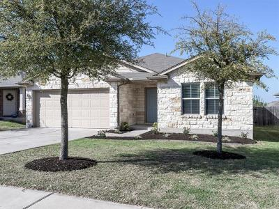 Hutto Single Family Home Pending - Taking Backups: 105 Lavaca Loop