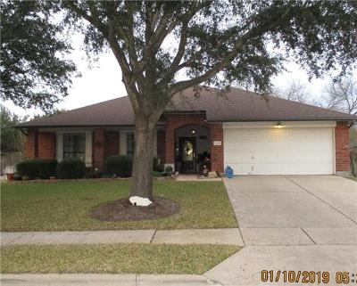 Pflugerville Single Family Home For Sale: 1233 Bell Rock Cir
