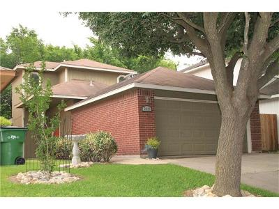 Round Rock Single Family Home For Sale: 2237 Jasmine Path