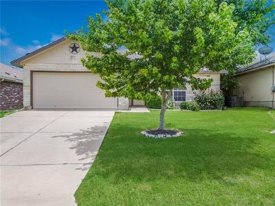 Jarrell Single Family Home For Sale: 204 Amber Ln