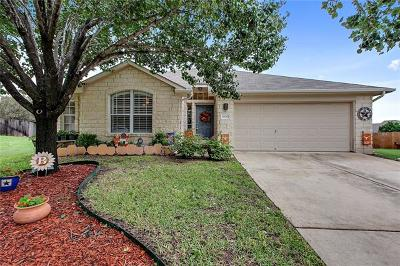 Leander Single Family Home For Sale: 1008 Mapleridge Cir