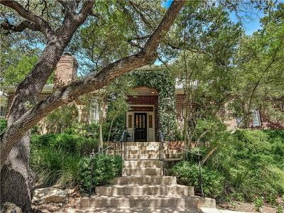 Travis County Single Family Home For Sale: 2400 Westlake Pass