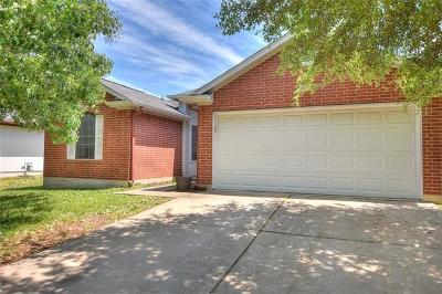 Hutto Single Family Home For Sale: 118 Estate Cv