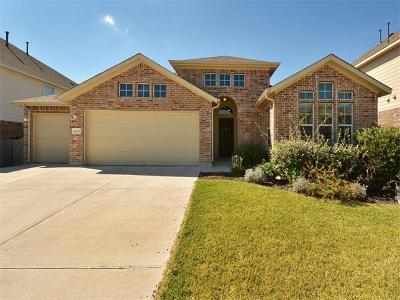 Round Rock Single Family Home For Sale: 4219 Woodhaven Trl